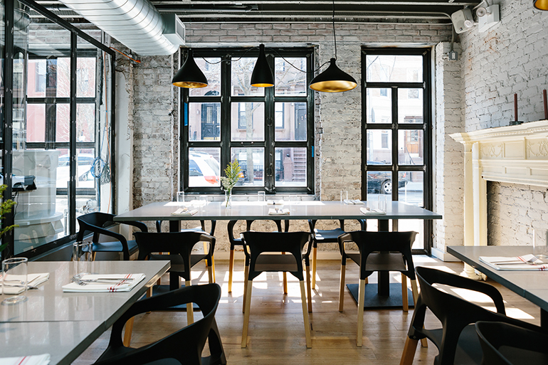 East One Coffee Roasters In Brooklyn By Blueberry Builders. Photography By  Ethan Covey.