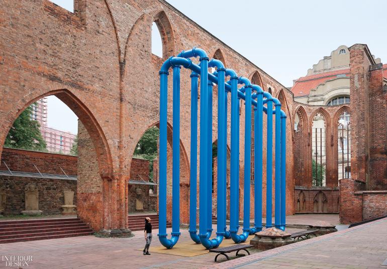 anna borgman candy lenk s berlin installation radiates ambiguity