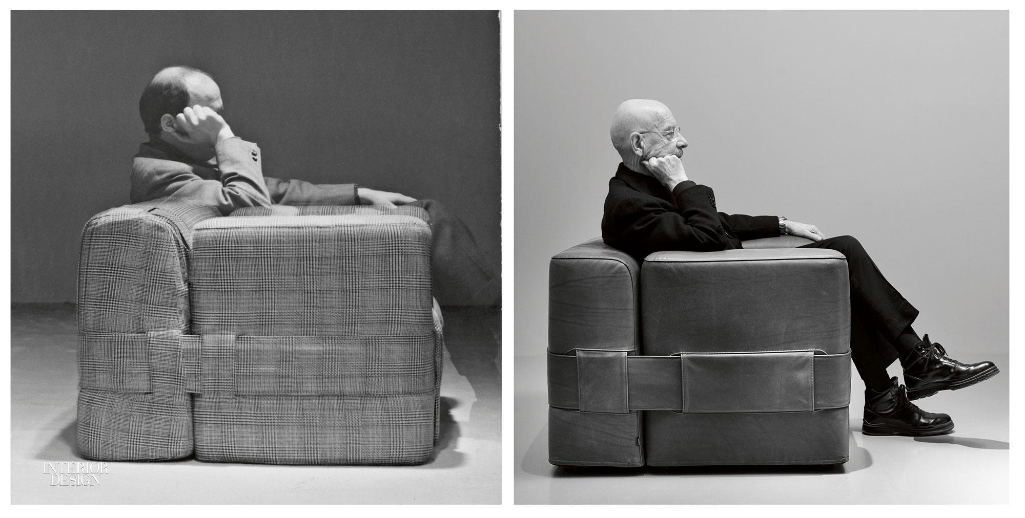 Mario Bellini Design.Cassina Revives Mario Bellini And Marco Zanuso Designs For