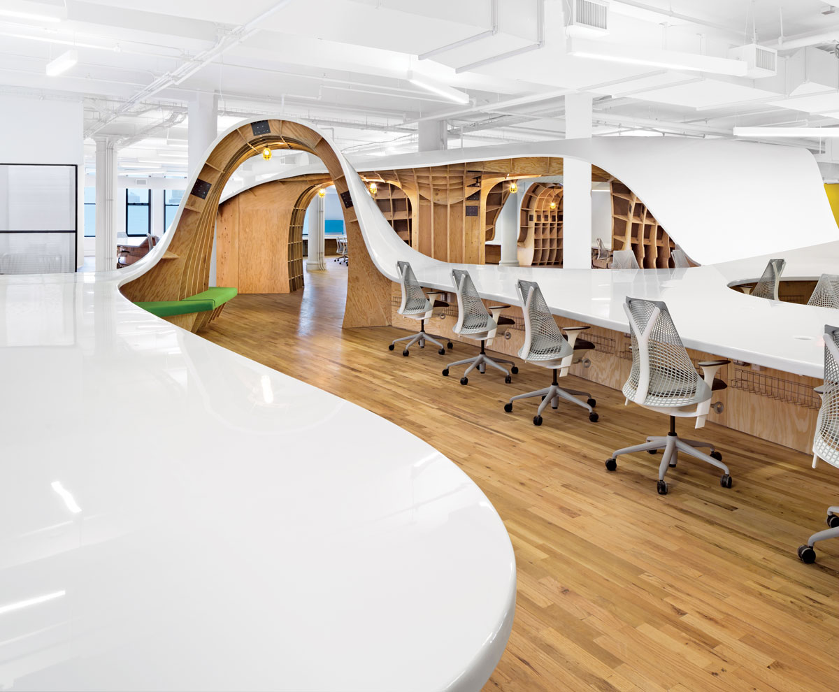 Spotted on instagram 8 innovative offices for Interior design instagram hashtags