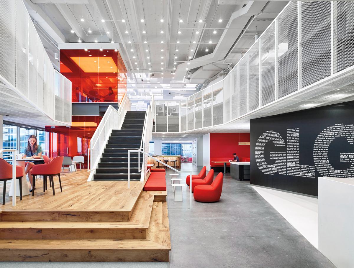 Clive Wilkinson Architects Gerson Lehrman