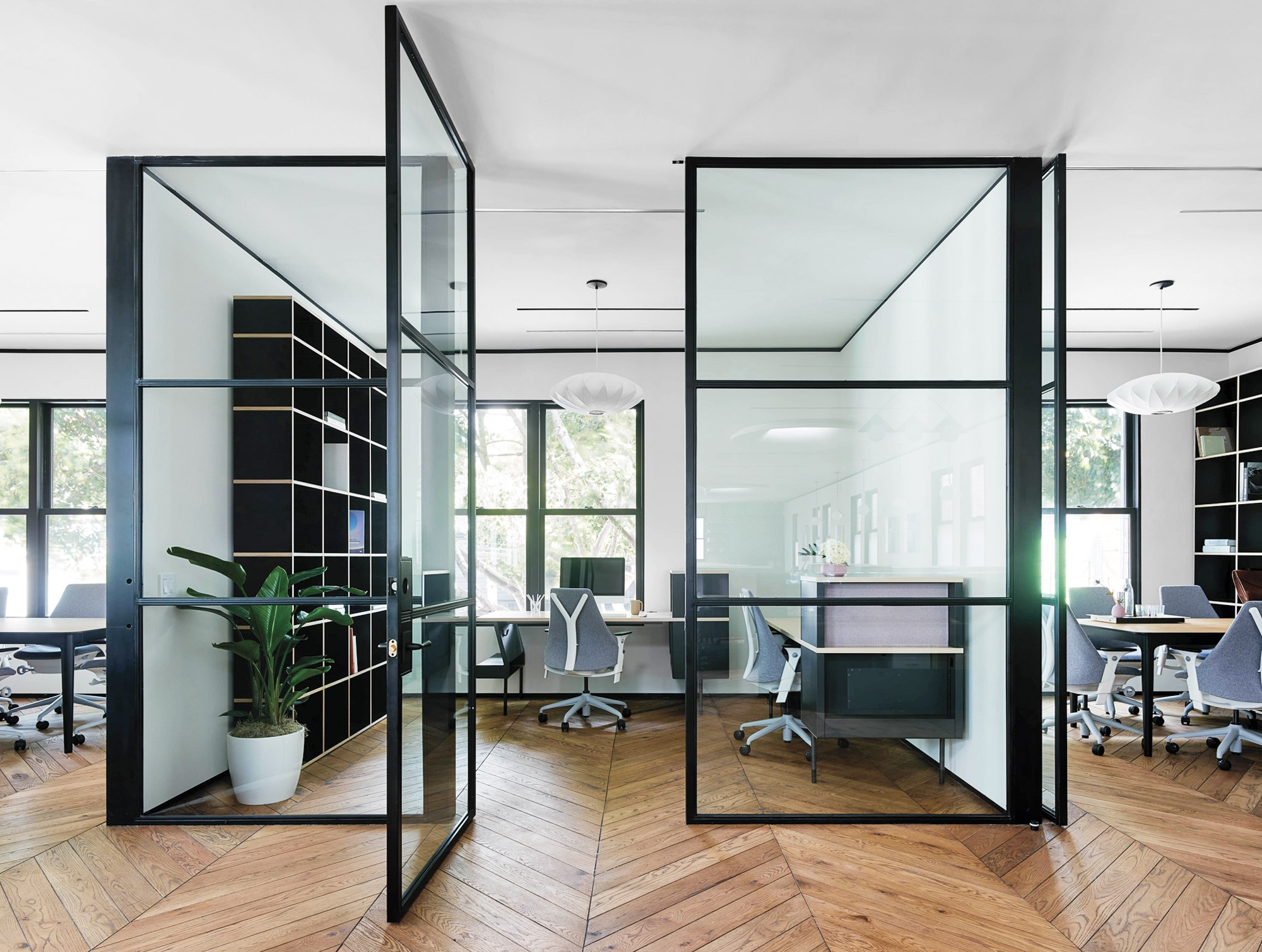 Yves b har masterminds coworking with san francisco 39 s canopy for Office working area design