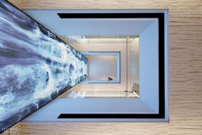 Blue Interior Design Model retail | interior design projects