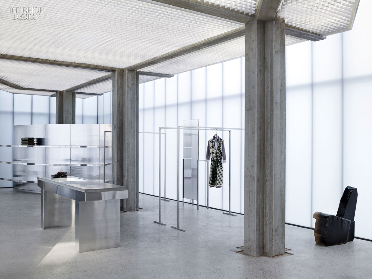 Sophie hickss strikingly minimalistic acne boutique in seoul is far from gangnam style