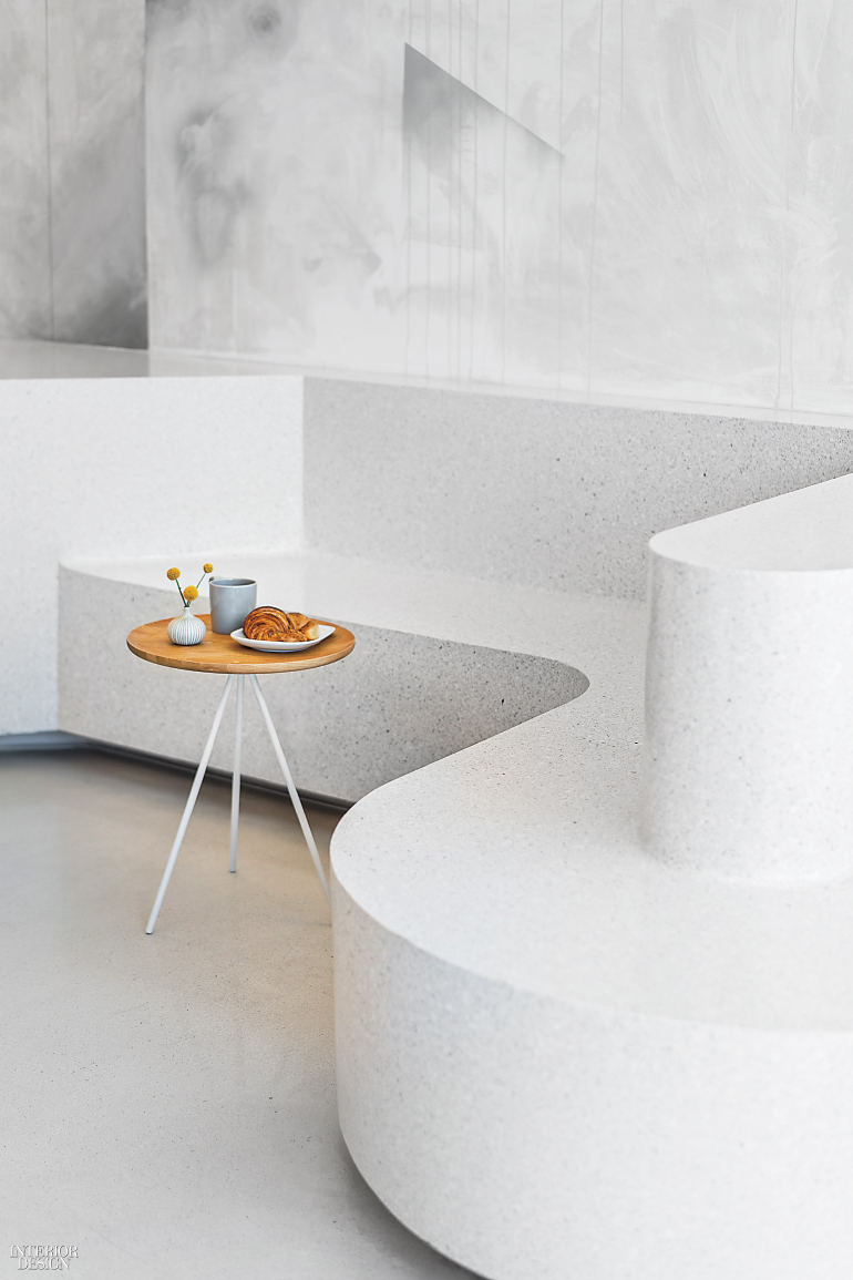 Bench Seating Is Terrazzo Photography By Brandon Shigeta