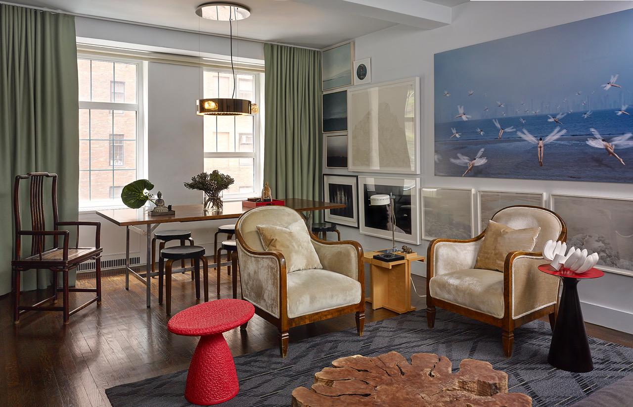 Cozy Ny Apartment D B Kim Calls Home Element 360 Design Studio