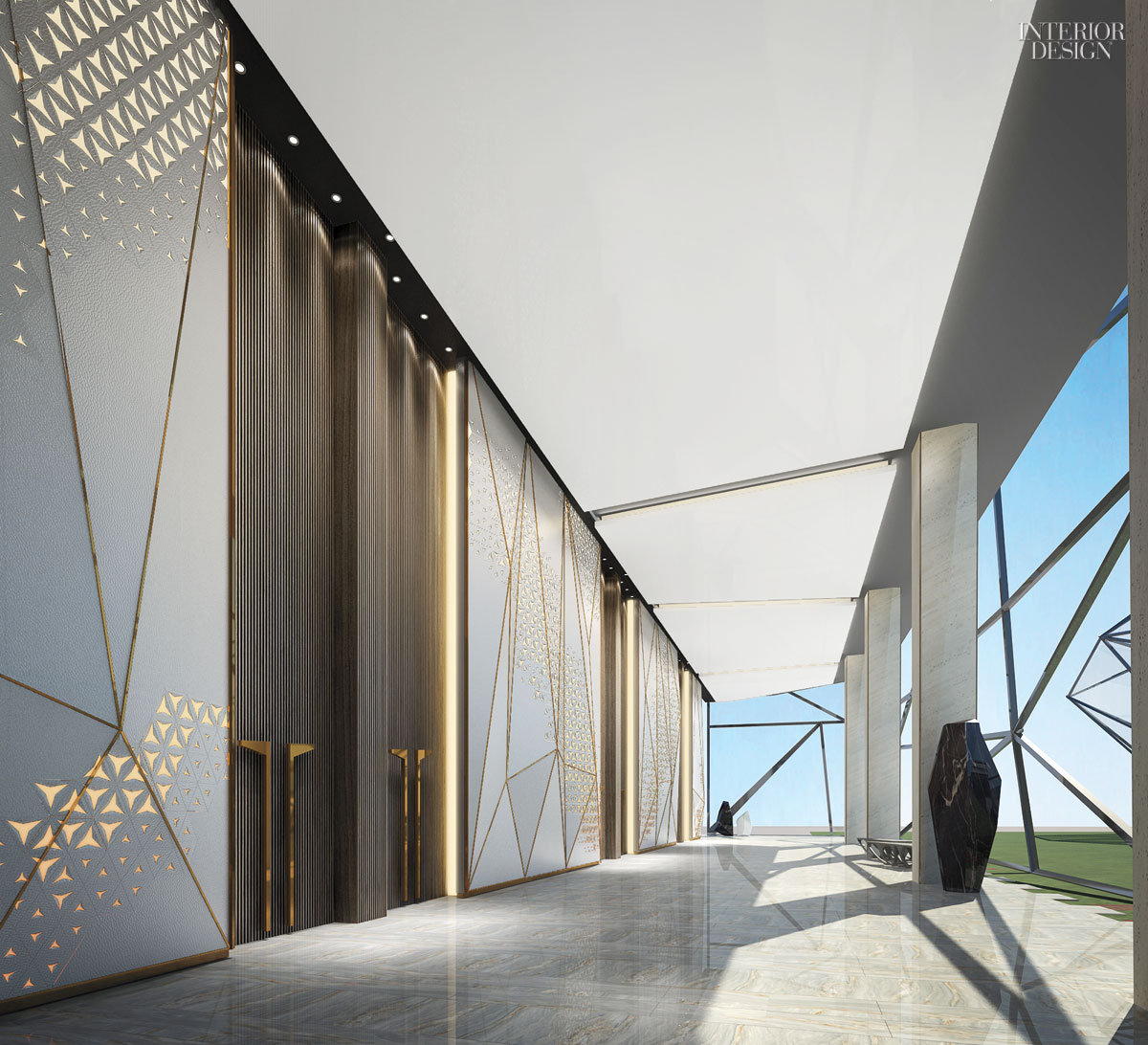 Best Corridor Design: After Working For A Chinese Developer, D.B. Kim Returns To