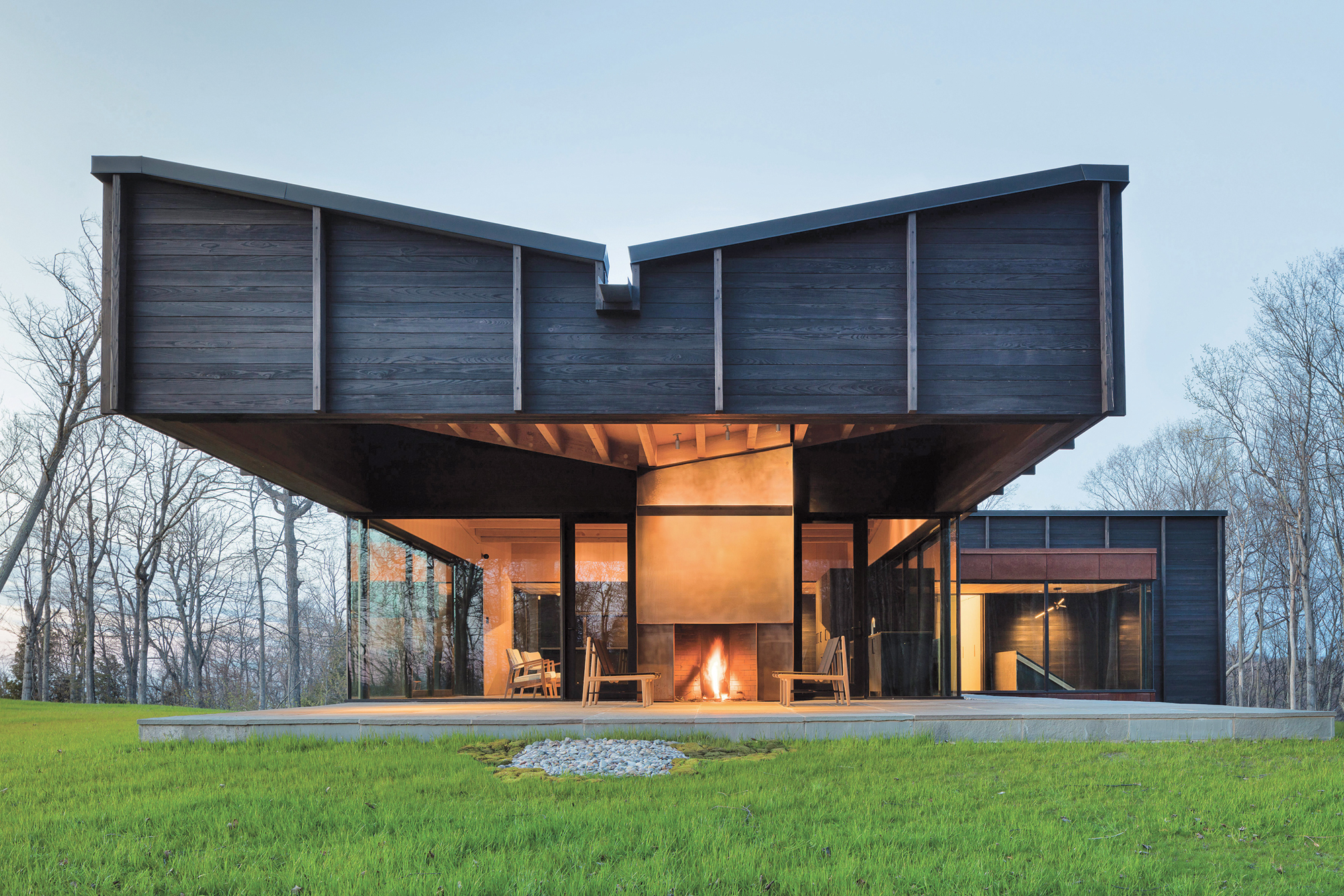 Michigan Lake House By Desai Chia Architecture 2016 Best