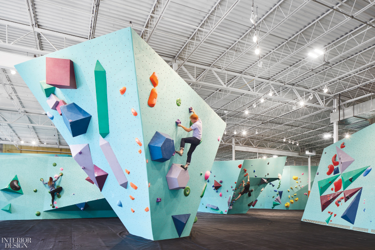 Firms: DJA Architects And Lilianne Steckel Interior Design. Project:  Minneapolis Bouldering Project. Site: Minneapolis, MN. Photography By  Andrea Calo.