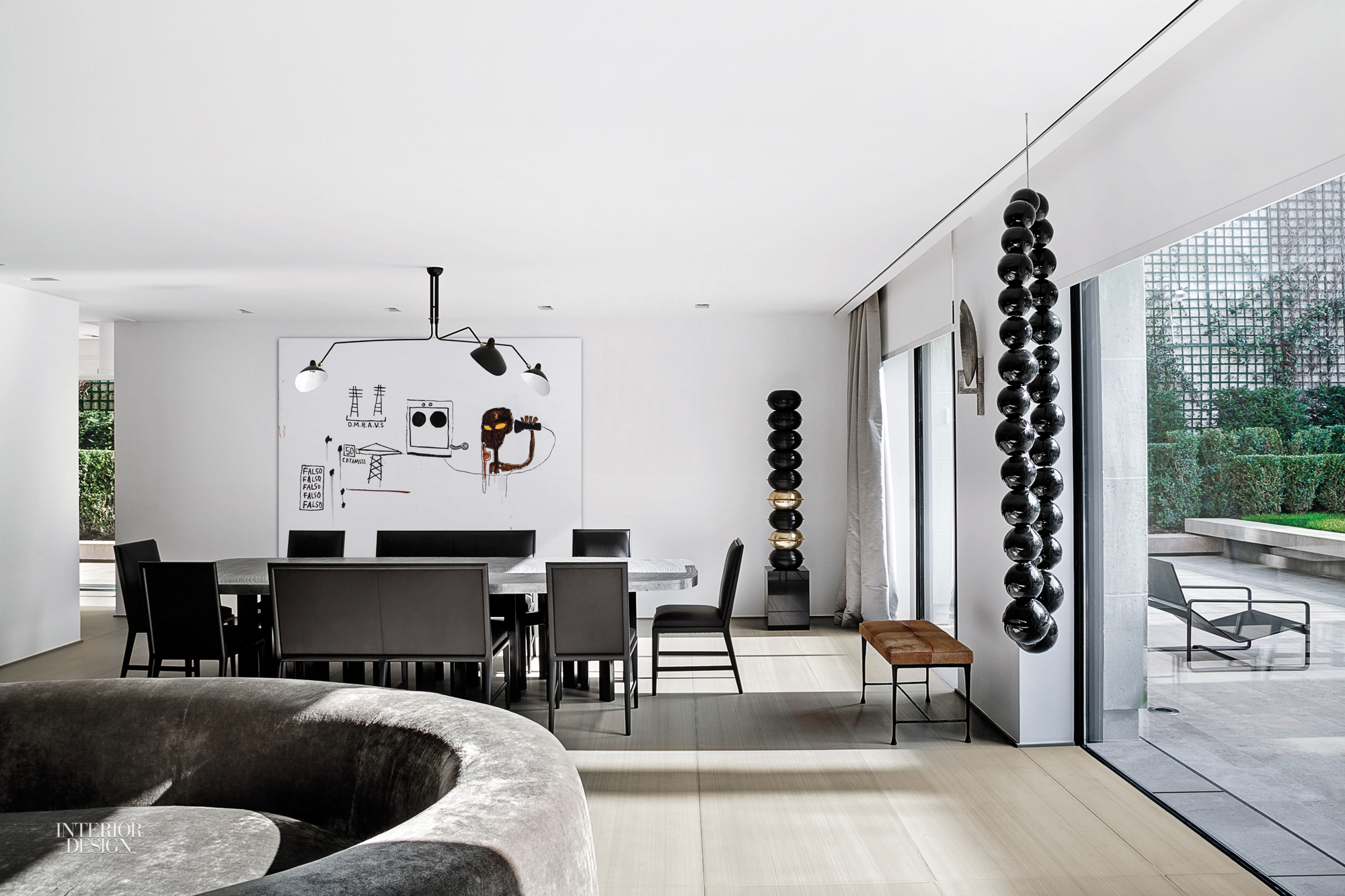 The Owners Of This 6,000 Square Foot Triplex Apartment In The Paris Suburb  Of Neuilly Sur Seine Have Long Admired The Sleek, Clean Lined Style Of  Olivier ...