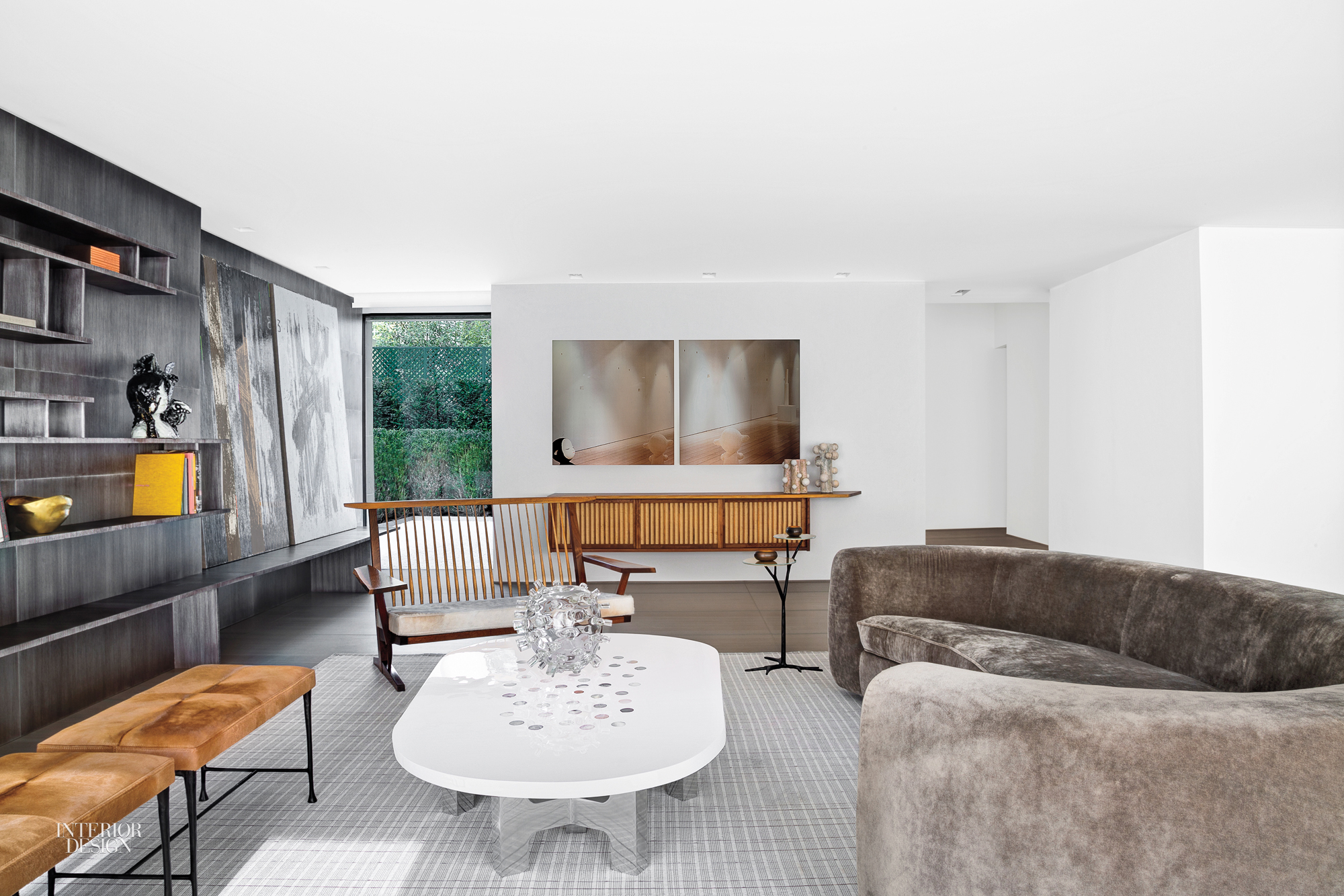 Finest the owners of this squarefoot triplex apartment in the paris suburb of have long admired - Table des oliviers neuilly ...
