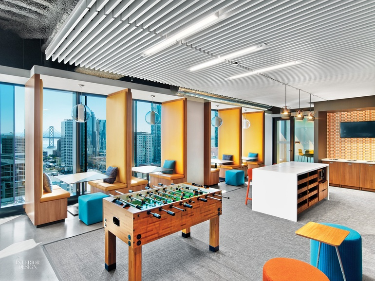 At linkedin san francisco office by interior architects for Interior design office names