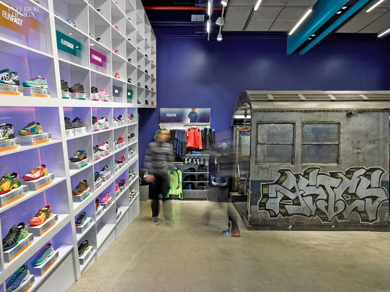 Train  The Asics New York Flagship by Mapos 24c5b497e81d