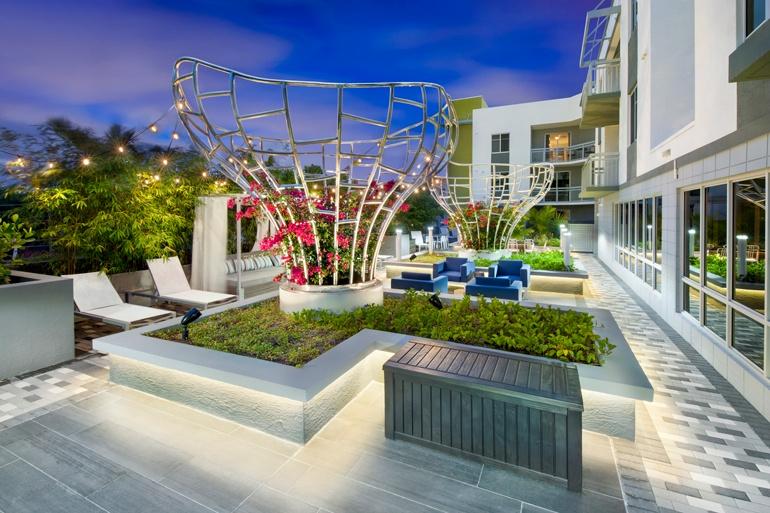 The SofA Building In Delray Beach, FL. Image Courtesy Of V Starr Interiors.