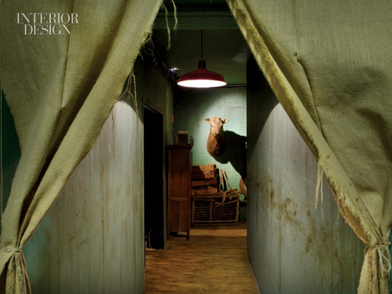 The Thane Of Chelsea Sleep No More Takes Over The Mckittrick Hotel Interior Design Magazine