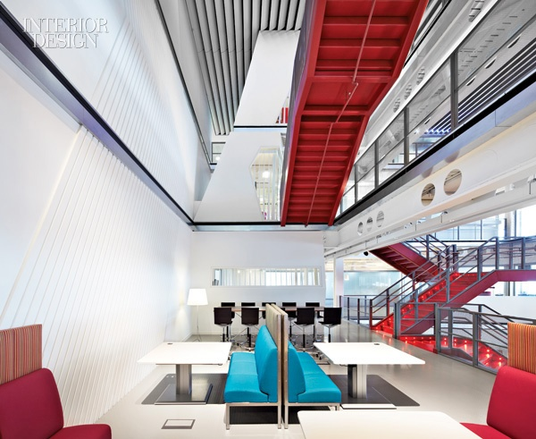 macquarie london office. A Ribbon Runs Through It: Clive Wilkinson Ties London\u0027s Macquarie Group Together London Office