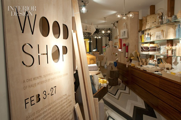 Refreshed And Recharged David Stark S Wood Shop Pop Up