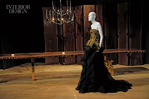 McQueen For A Day: Hudson Furniture Collaborates With Alexander McQueen