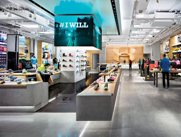 The Will To Succeed Architecture Information for Under Armour