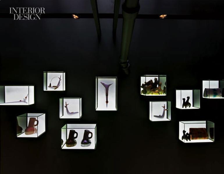 Artis Design Arad : High contrast: paris galerie bsl by agence néonata