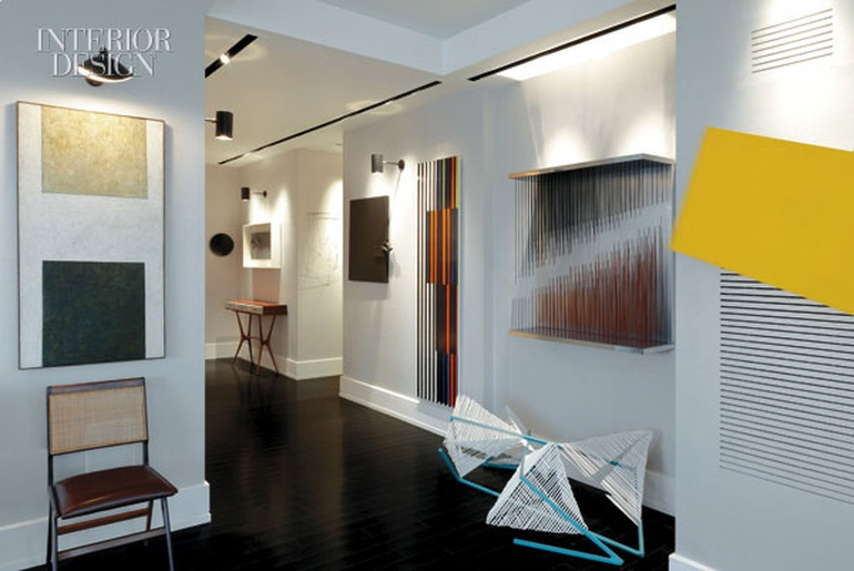 Latin Modern Christopher Coleman Gives A Venezuelan Couple NYC Pied Terre