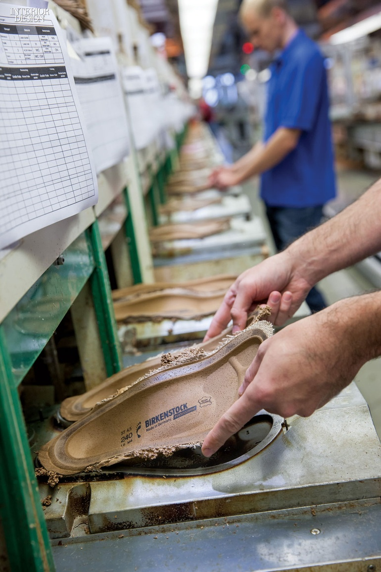 5e5688842d40 Birkenstock has a 230-year tradition of shoe manufacturing. Photography by Joachim  Grothus.