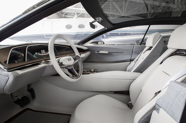 Cadillac Escala Scales Up Luxury Car Interiors