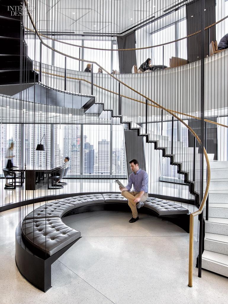 Conde Nast S 1 World Trade Center Hq By Gensler New York Interior Design Magazine