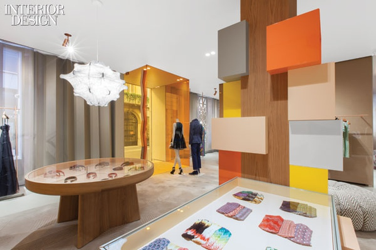 the best attitude fc317 fd2ed Molto Missoni: Urquiola Dresses Up Milan Flagship