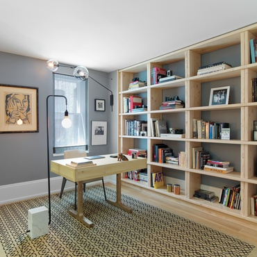 6 simply amazing home offices - Wall Interior Design Photos