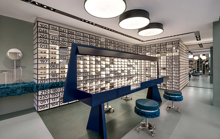 interior design miami office. The Just-opened Oliver Peoples Boutique In Miami Design District By DimoreStudio. Interior Office I
