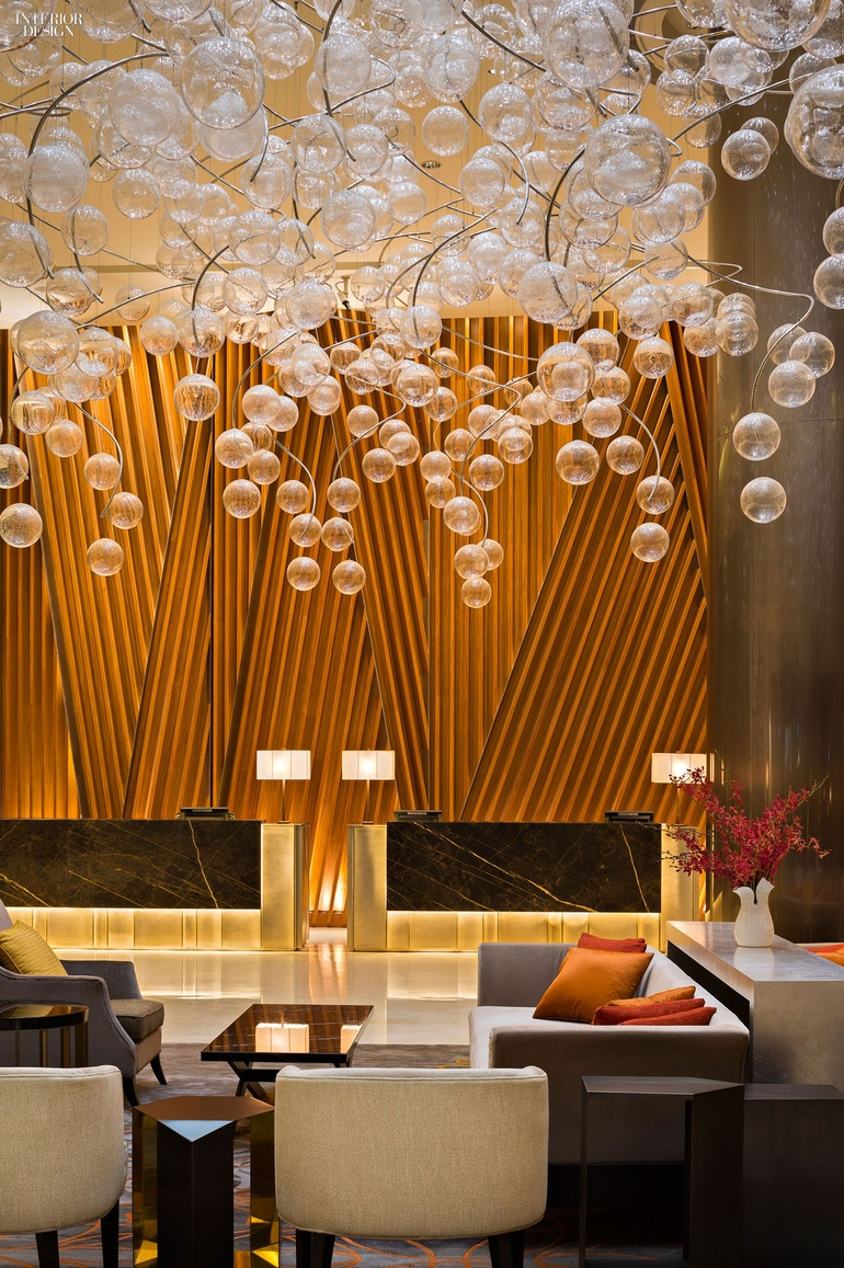 EDG Interior Architecture + Design, Ranked #22. Project: Fairmont Hotel.  Location: Singapore. Image Courtesy Of EDG Interior Architecture + Design.