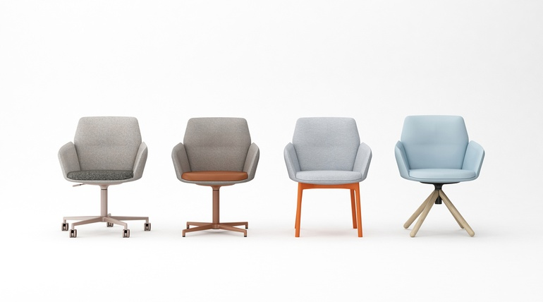 Genial Category: Workplace: Seating/Task. Winner: Poppy By Haworth.