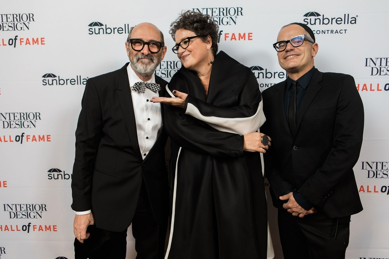 2016 Inductee Isay Weinfeld Interior Design Editor In Chief Cindy Allen And Giovanni Bianco Of GB65 Photography By Keith Claytor TimeFrozen