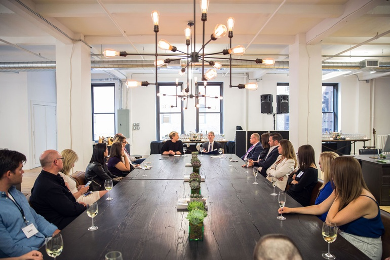 ... For A VIP Roundtable Discussion With Claire Eeles, Global  Business To Business Leader At RH Contract, And Interior Design Senior  Editor Mark McMenamin.