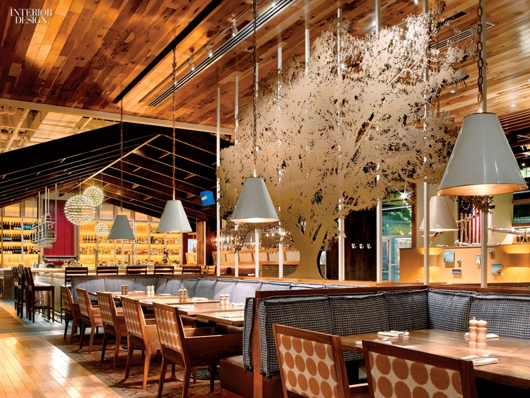 GrizForm Recreates A Virginia Barn For Founding Farmers Restaurant Custom Barn Interior Design