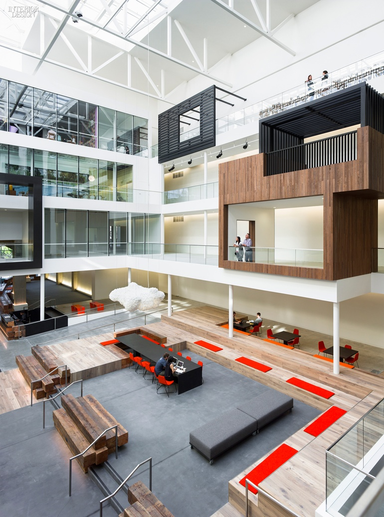 2015 top 100 giants rankings for The interior design firm