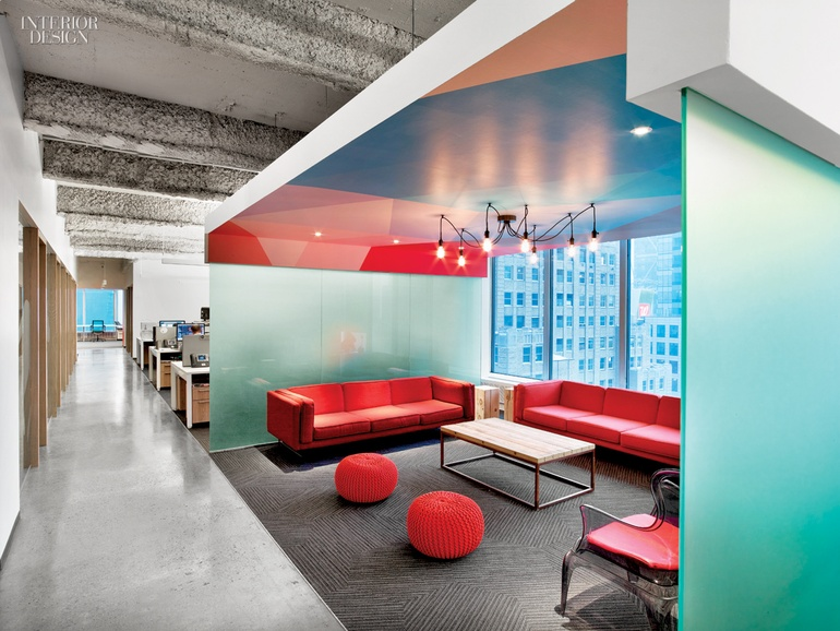 5 firms design viacom 39 s midtown nyc headquarters for Office interior design nyc