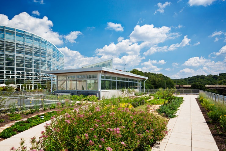 Center For Sustainable Landscapes At Pittsburgh S Phipps Conservatory