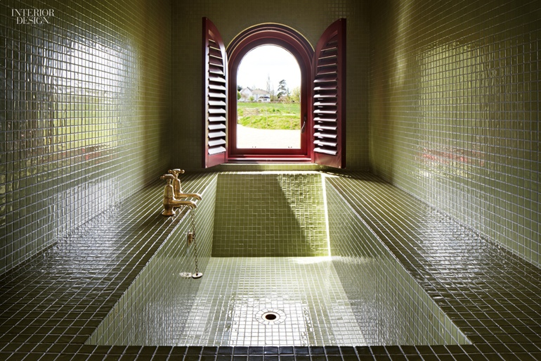 Designers Grayson Perry And Charles Holland Project A House For Essex Location Wrabness England Standout Nestled In The Eaves Of Roof Bathroom