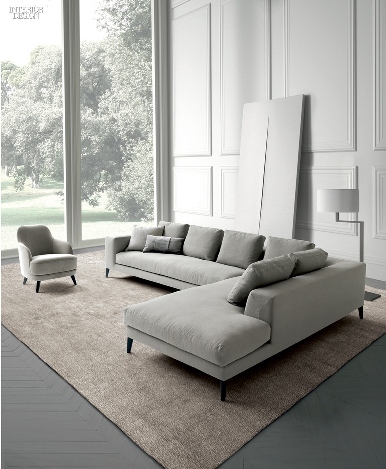 Castello Lagravineseu0027s Hamptons Sofa With Solid Fir Frame, Beech Feet,  Polyurethane Foam, And Cushions With Goose Down And Rollofill By Casamilano.