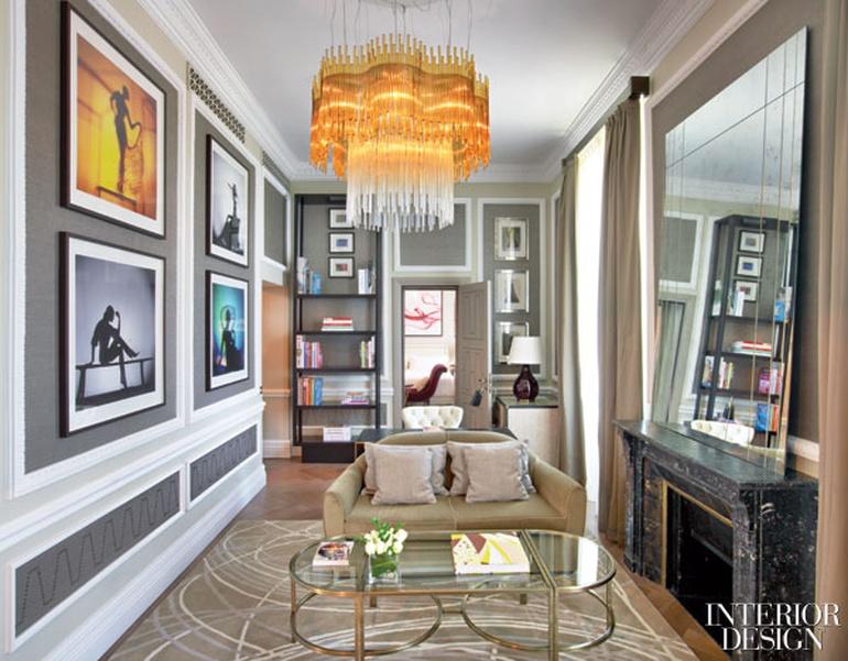 Fashion forum remaking a historic suite at st regis rome - Interior designer roma ...