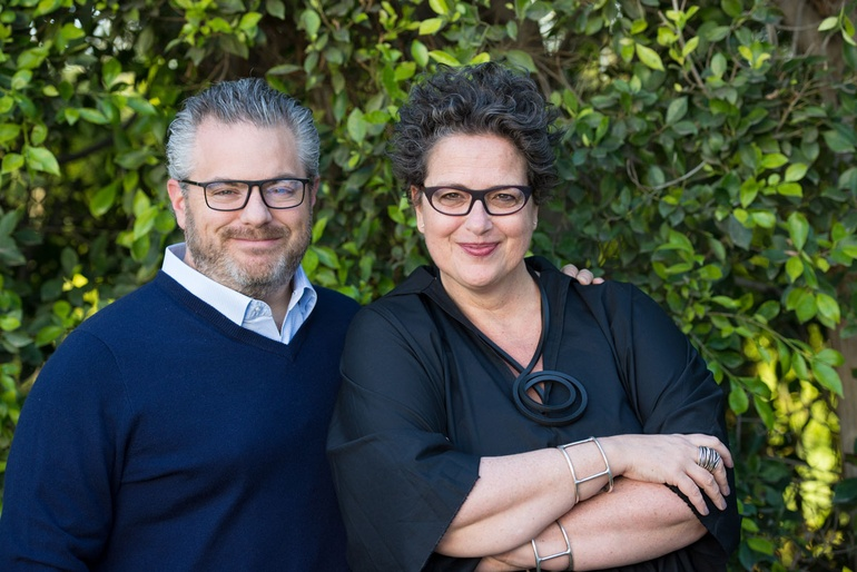 Adam Sandow CEO Of SANDOW And Cindy Allen Editor In Chief Interior Design Photography By Kevin Newsome