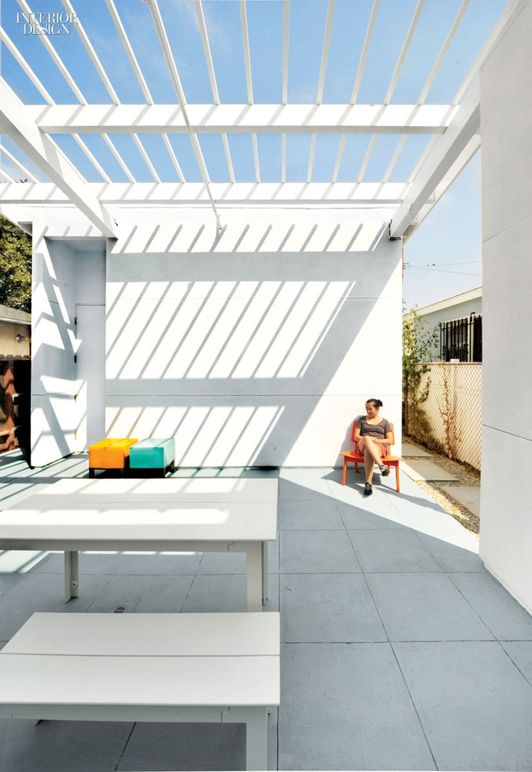 lehrer architects office design. Firm: Lehrer Architects. Project: Affordable-housing Prototype. Location: Los Angeles. Photography By: Michael Lehrer/Lehrer Architects Office Design