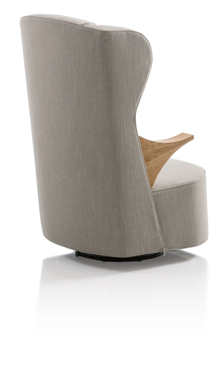 48 splendid selects for seating poem swivel chair in leather and beech by brhl parisarafo Images