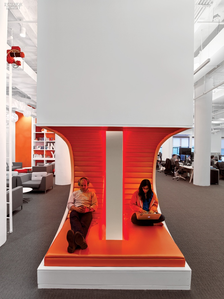 Theyu0027re Onto Something Big: AppNexusu0027s Playful Flatiron Office By Agatha  Habjan