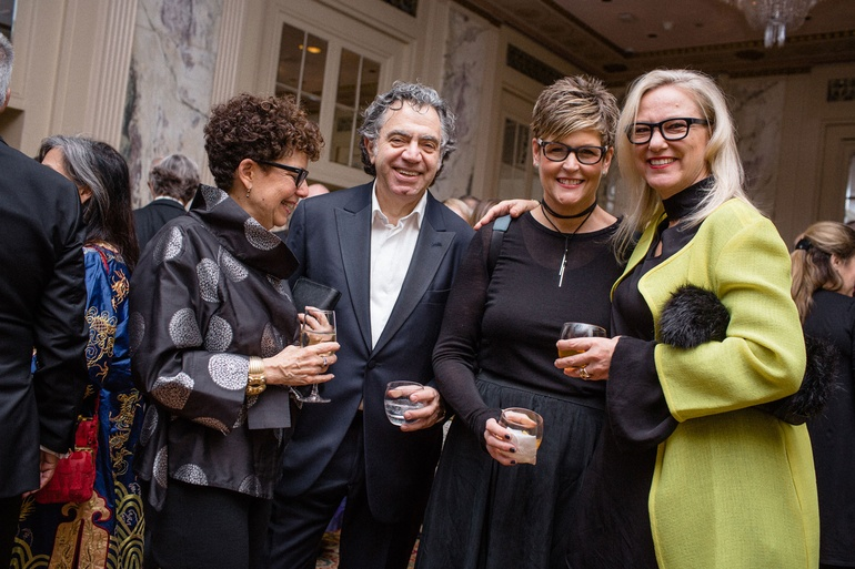 Nancy Ruddy And John Cetra Of CetraRuddy Mary Jo Miller HBF Textiles Ghislaine Vias Interior Design