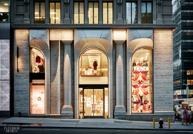 6f08df96d812 Fendi s Flagship by Peter Marino Brings Italy to Midtown
