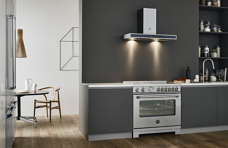 Two Designers Dream Up Elegant Bertazzoni Kitchens