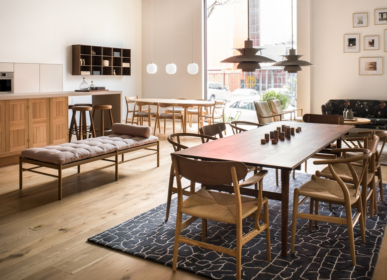 A Sample Of Mid Century And Contemporary Furniture Pieces At The Carl  Hansen U0026 Søn San Francisco Flagship Store.